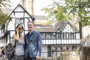 Couple visiting Coventry