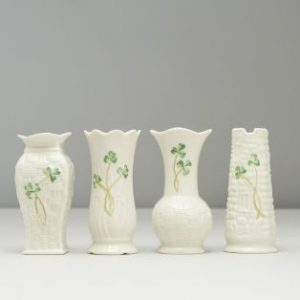 Belleek offer a fine selection of Irish pottery and crystal that make great anniversary gifts