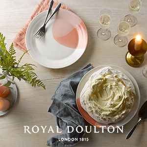 Buy a gift from Royal Doulton from tableware to collectable figures for this anniversary gift
