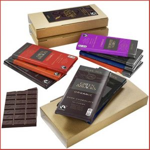 Great selection of organic fine tasting basket hamper chocolate gifts