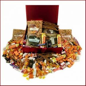Retro sweet selections and hampers from your childhood, buy him, her or the couple a trip down memory lane