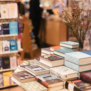Buy them a selection of bestseller books for this anniversary gift