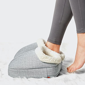 Buy her or him this heated foot massager for an anniversary gift on any year