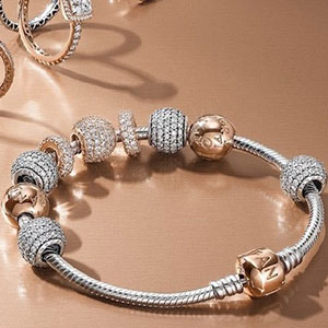 Buy her a piece of Pandora jewellery for any anniversary gift