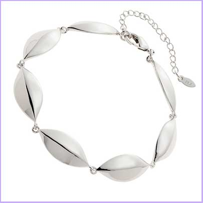 Buy her the petal bracelet from Belleek for this anniversary gift