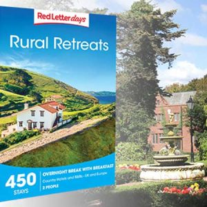 Treat him or her, maybe your parents to a rural retreat gift for this anniversary