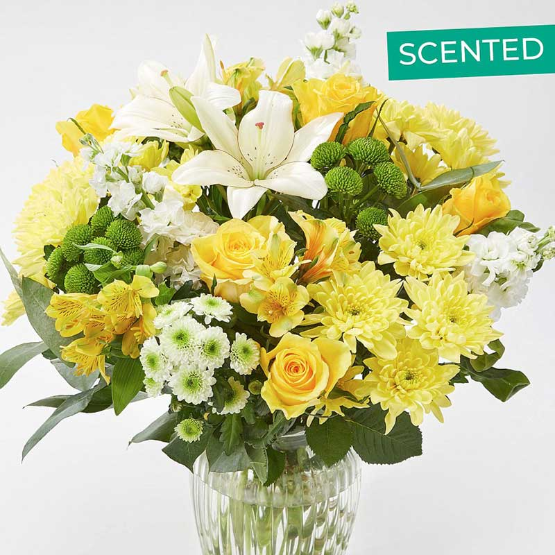 Buy her or the couple this Sunny Daze Bouquet for their wedding anniversary gift
