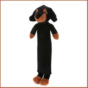 Buy her this extra long Sausage Dog hot water bottle for this anniversary gift