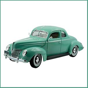 Buy him the Ford Deluxe from the collectable collection for this anniversary gift, we have other cars to choose from