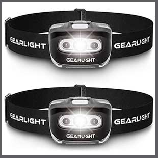 Buy him these Gearbest LED headlamp set for this anniversary gift