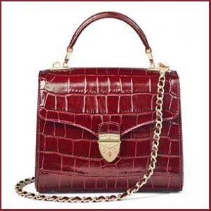 Buy her the Aspinal of London Midi Mayfair Bag for this anniversary gift