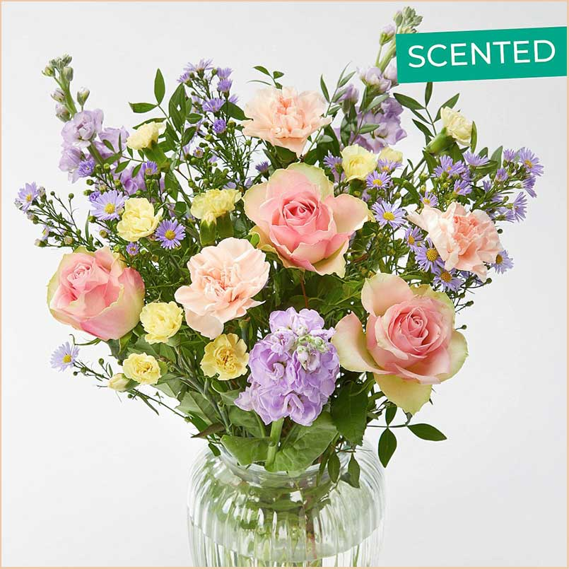 Buy her or the celebrating couple this Perfectly Pastel Bouquet for this anniversary gift