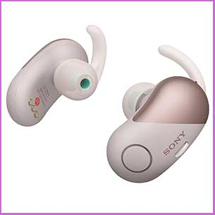 Buy her these Sony Wireless Bluetooth Ear Buds for this anniversary gift