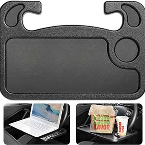 Buy him this very handy eating or laptop steering wheel tray for this anniversary gift