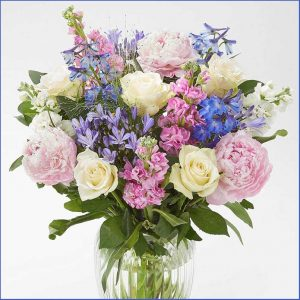 Buy them or her the Summertime Harmony Bouquet for this anniversary gift
