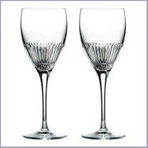 Buy them these Calla Wine Glasses from Royal Doulton for there 50th anniversary gift