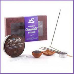 Buy them this fun chocolate massage kit for this anniversary gift