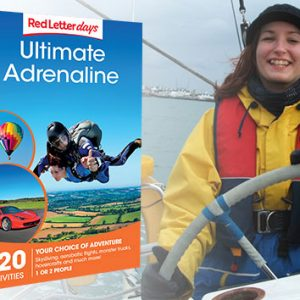 Buy her the ultimate adrenaline day experience with over 400 locations for this anniversary gift.