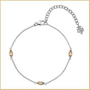 Buy her the Anais Hot Diamonds Citrine Bracelet for this anniversary gift