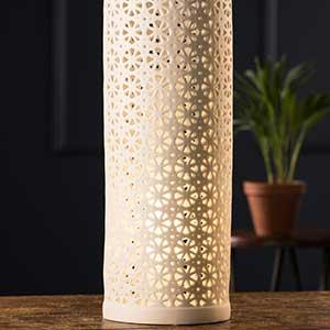 Buy them the Belleek Living Kaleidoscope Luminaire for this anniversary gift