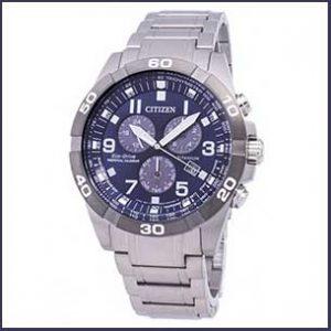 Buy him this Citizen Men´s Bracelet Sport Titanium Watch for this anniversary gift