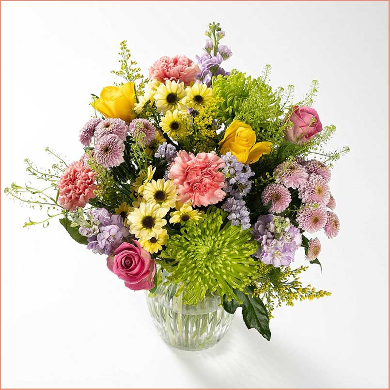 Buy her or the celebrating couple this Delicate Delight Bouquet for this anniversary gift