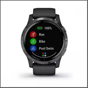Buy him this Garmin Sports Watch for this anniversary gift, shake up the way you move with more than 20 preloaded sports apps, and get easy-to-follow, animated cardio, strength, yoga and Pilates workouts right on your watch screen