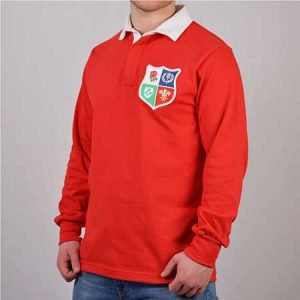 Buy him this British & Irish Lions 1970s Vintage Rugby Shirt for this anniversary gift