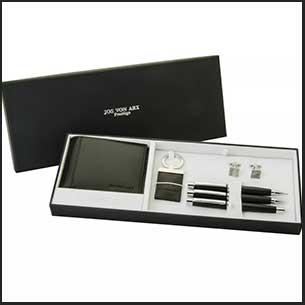 Buy him this Jos Von Arx Prestige 6-Piece Box Set for this anniversary gift
