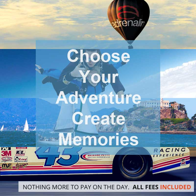 Buy him, her or the celebrating couple an adventure day experience for this anniversary gift, help create lasting memories.