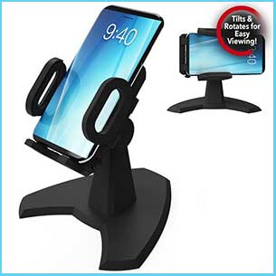 Buy the desk call phone mount for this anniversary gift