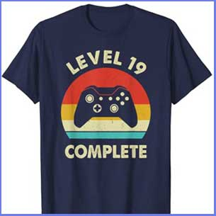 Buy him the Level 19 complete wedding anniversary gift for