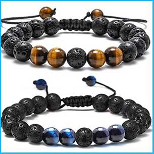 Buy him Lava Rock Bracelet for this anniversary gift