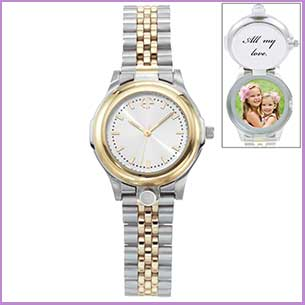 Buy her the personalized photo watch for this anniversary gift