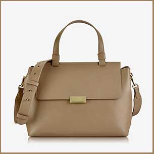 Buy her GiGi New Yorks finest hand-crafted women's leather handbags for this anniversary gift