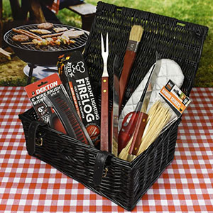 Buy him the BBQ Legends Hamper for this anniversary gift