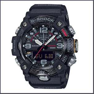 Buy him the Casio G-Shock Men's Mudmaster Black Rubber Strap Watch for this anniversary gift