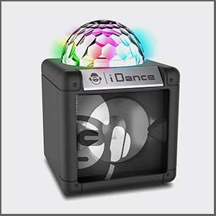 Buy him or her the idance nano cube speaker and light for this anniversary gift