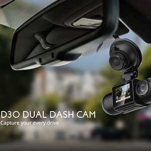 Buy her or him this dashcam, records your drive and accidents when you´re away from the vehicle, protects you against driver fraud, great anniversary gift