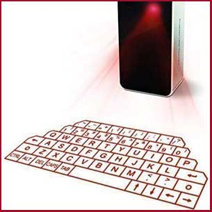 Buy her or him this handy Wireless Laser Projection Bluetooth Virtual Keyboard for this anniversary gift