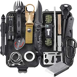 Buy him the survival gear kit for this anniversary gift, very handy for the outdoors man